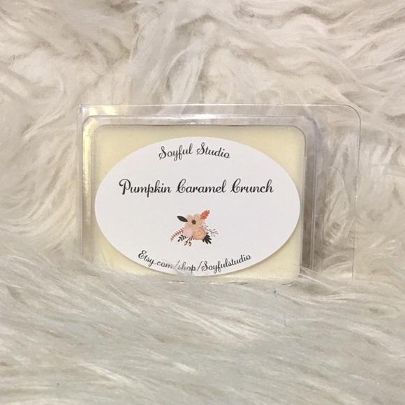 Other - Pumpkin caramel crunch wax melts